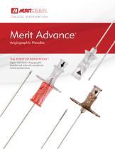 Merit Advance® Angiographic Needles