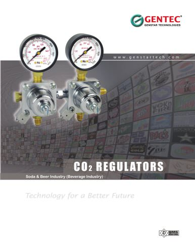 co2 beverage regulator