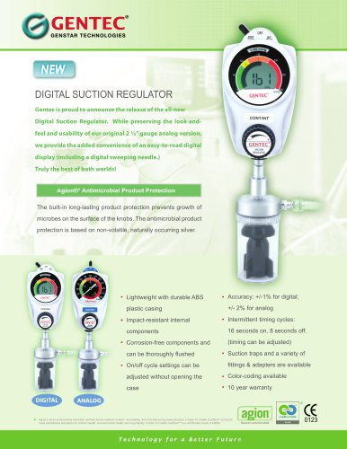 DIGITAL SUCTION REGULATOR