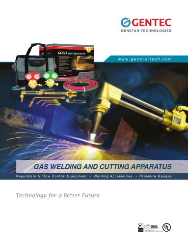Gas Welding & Cutting Apparatus Catalog