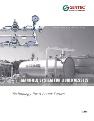 Manifold System for Liquid Vessels