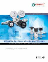Specialty Gas Regulators & Accessories - 1