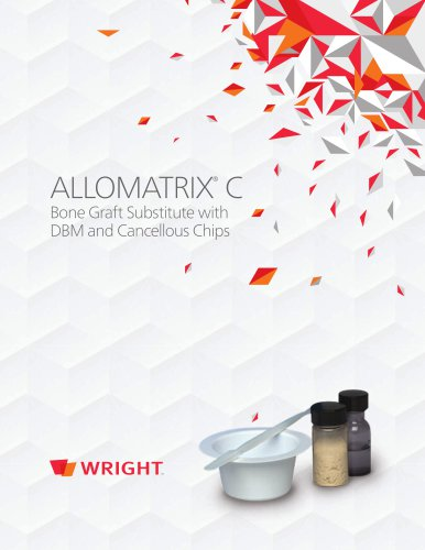 ALLOMATRIX C Brochure