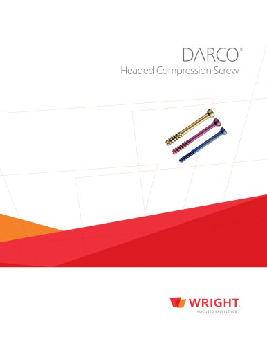 DARCO Headed Compression Screw
