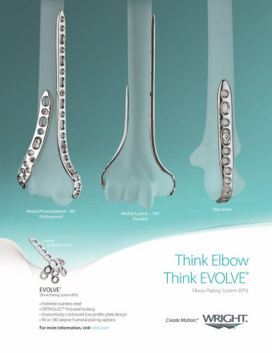 EVOLVE Elbow Plating System (EPS)