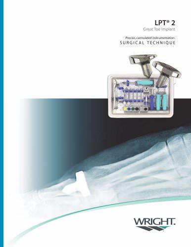 LPT II Great Toe Surgical Technique ? SO157?208