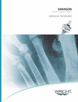 SWANSON Flexible Hinge Toe Surgical Technique ? SOSTL001 - 1
