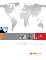 Wright Code of Business Conduct - 1