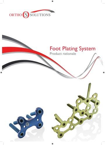 Foot Plating System