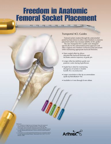 Freedom in Anatomic Femoral Socket Placement - LS0187