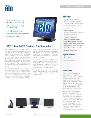 1517L 15-inch Multifunction Desktop