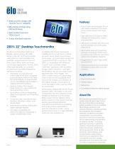 2201L 22? Desktop Touchmonitor