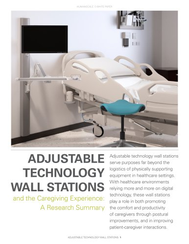 ADJUSTABLE  TECHNOLOGY  WALL STATIONS