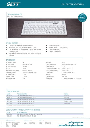 TKG-086-IP68-WHITE
