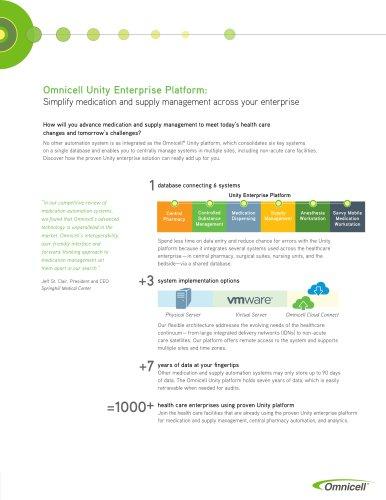 G4 Unity Enterprise Platform Handout