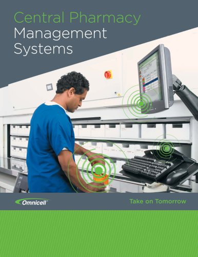 Omnicell Central Pharmacy Automation Brochure