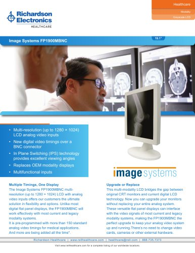Image Systems FP1900MBNC