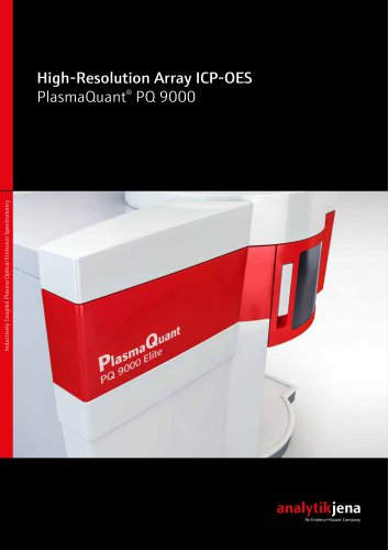 High-Resolution Array ICP-OES PlasmaQuant® PQ 9000