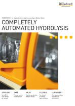 Automated hydrolysis system HYDROTHERM