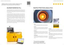 Automated protein analysis - 2
