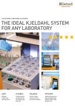 The ideal Kjeldahl system for any need - 1