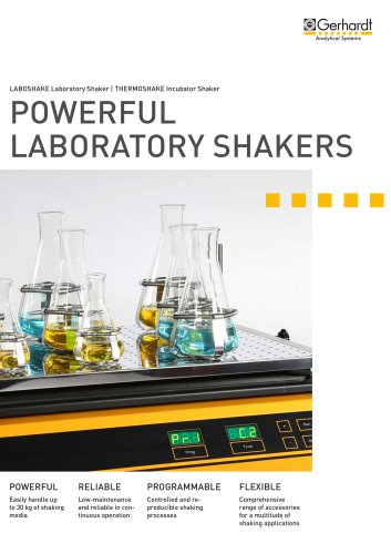 POWERFUL LABORATORY SHAKERS