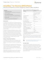 AmpliSeq™ for Illumina BRCA Panel