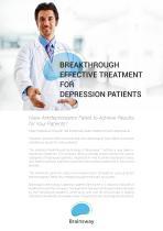 BREAKTHROUGH EFFECTIVE TREATMENT FOR DEPRESSION PATIENTS