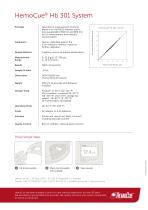 HemoCue ® Hb 301 System - 2