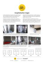 Lubb: Veterinary Stainless Steel Hospitalization Cages