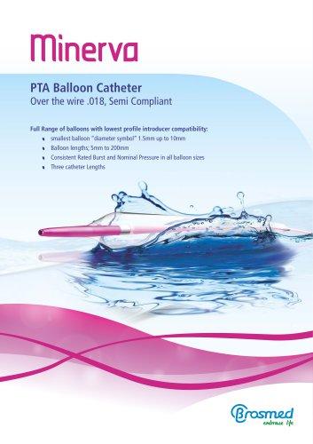Minerva PTA Balloon Dilatation Catheter