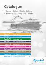 PTA balloon series (0.035, 0.018 , 0.014)