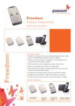 FREEDOM Wireless Telephone & Intercom System