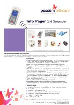 Info Pager - 2nd Generation