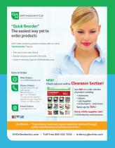 ORTHODONTIC PRODUCTS CATALOG - 2