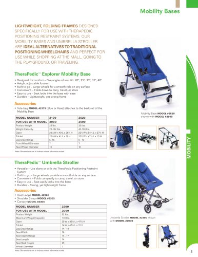 2300 Umbrella Stroller