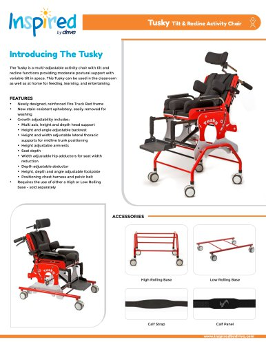 Tusky Tilt & Recline Activity Chair