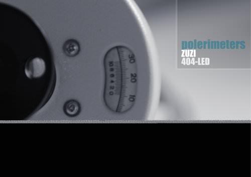 Manual polarimeter 404-LED