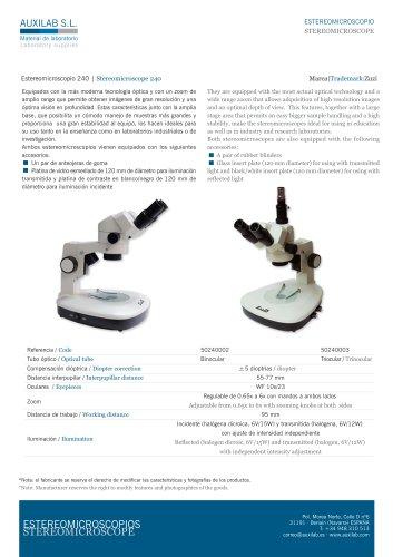 Stereomicroscope 240