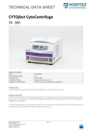 Data sheet - CYTOfast- Centrifuge