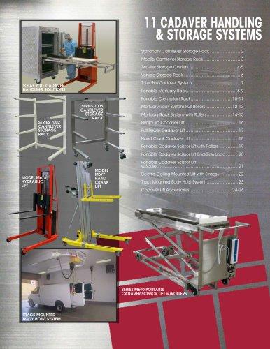 CADAVER HANDLING & STORAGE SYSTEMS
