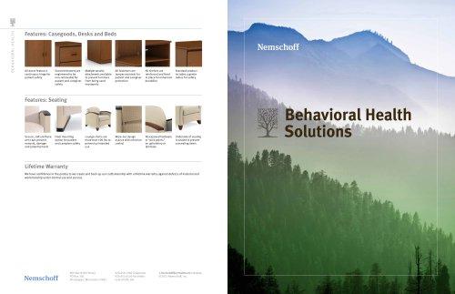 Behavioral Health Desks