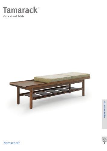 Tamarack Table & Bench