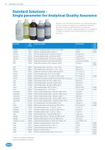 HACH CHEMISTRIES, REAGENTS AND STANDARDS - 10