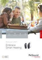 ReSound LiNX2 Embrace  Smart Hearing