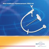 Non-balloon replacement PEG kit
