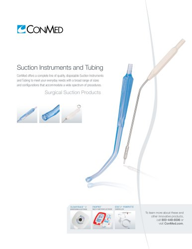 Suction Instruments and Tubing