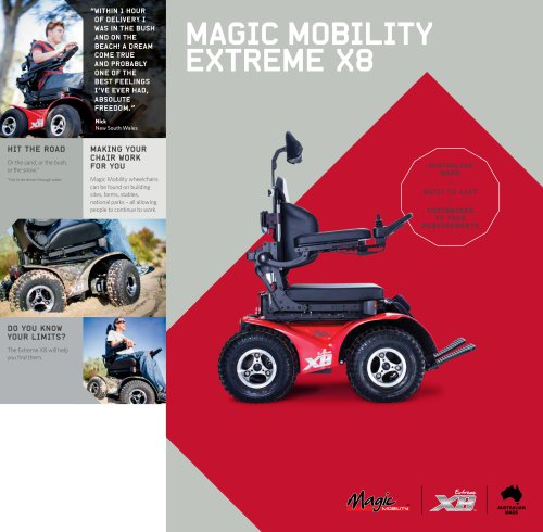 Magic Mobility Extreme X8