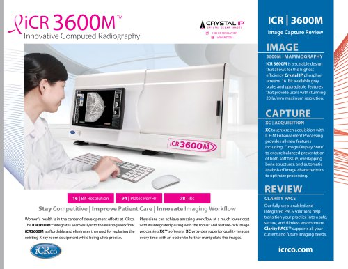 ICR | 3600M