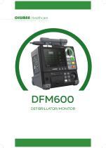 DFM 600 DEFIBRILLATOR/MONITOR